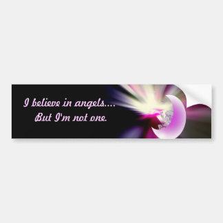Corações do anjo adesivo para carro