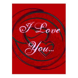 Corações dobro eu te amo