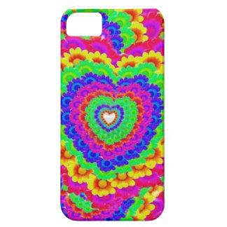 corações e flores em capas de iphone capa iPhone 5 Case-Mate