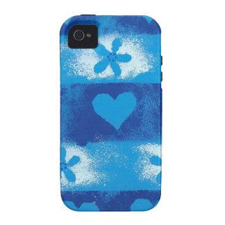 Corações & flores capinhas iPhone 4/4S