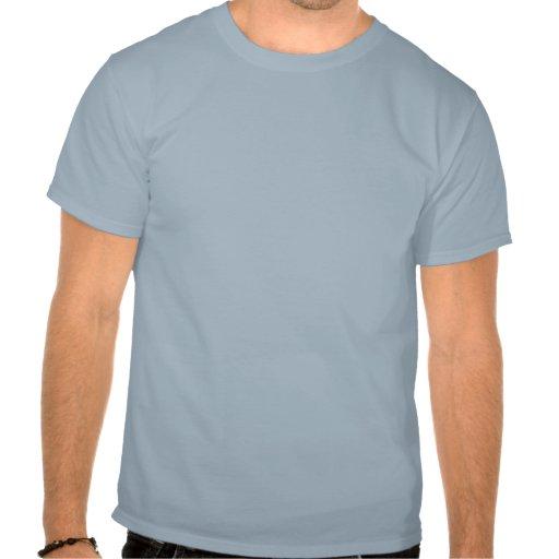 Corações ligados azul do amor tshirts