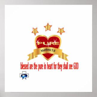 corações puros poster