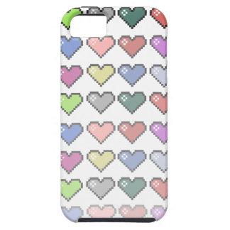Corações retros capas iPhone 5 Case-Mate