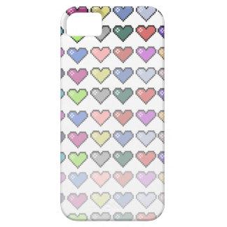 Corações retros capas iPhone 5
