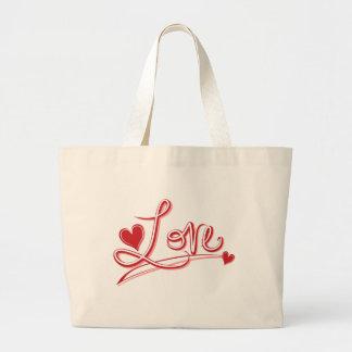 Corações vermelhos do amor que Wedding o bolsa das