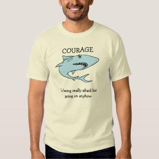 Coragem Camiseta