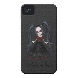 Corajoso pequeno bonito de Blackberry da menina do Capa iPhone 4 Case-Mate