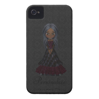 Corajoso pequeno bonito de Blackberry da menina do Capas iPhone 4 Case-Mate