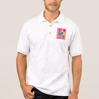 Coral soltado camisetas