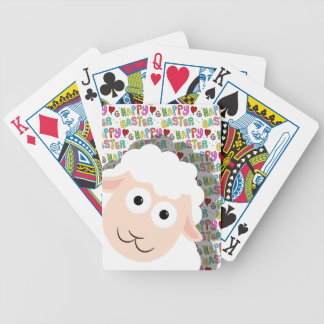 Cordeiro da páscoa baralho de cartas
