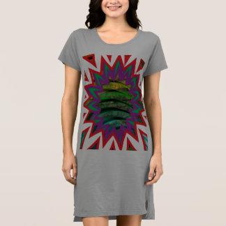 Cores americanas do vestido 4 do t-shirt do roupa