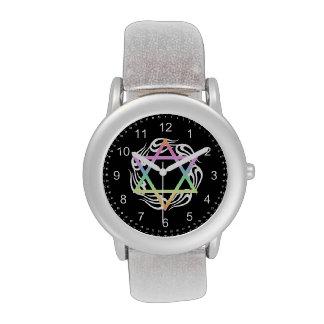Cores de estrela judaicas relógios