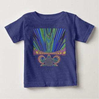 Cores decorativas africanas do design moderno do tshirts