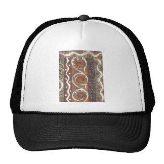 Cores tradicionais do chapéu do vintage africano boné