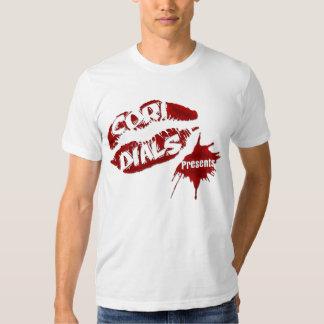 Cori disca a camisa do homem dos presentes tshirts
