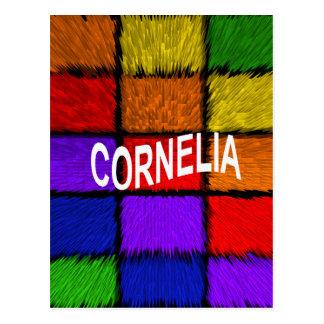 CORNELIA CARTÃO POSTAL