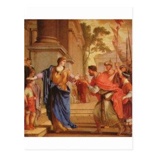 Cornelia tem a coroa da parte traseira Ptolemaic Cartão Postal