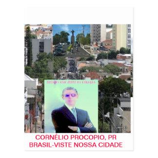 CORNELIO PROCOPIO,PR BRASIL CARTÃO POSTAL