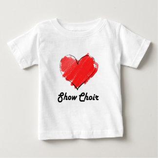 Coro da mostra do amor camisetas