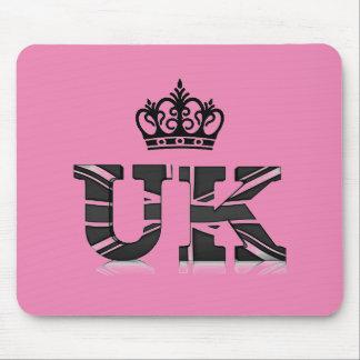 Coroa BRITÂNICA Mousepad de Reino Unido