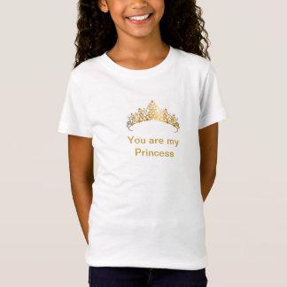 Coroa da princesa t-shirts