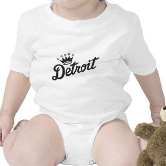 Coroa de Detroit Macacãozinhos Para Bebê