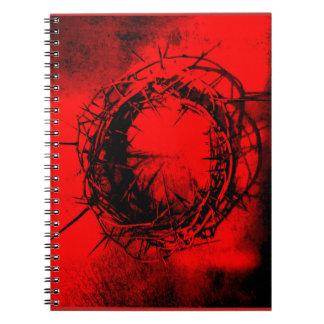 Coroa do caderno dos espinhos