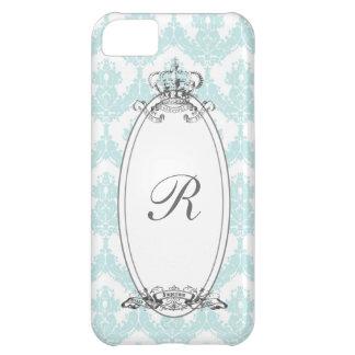 Coroa iPhone5 Case_Mint do damasco Capa Para iPhone 5C