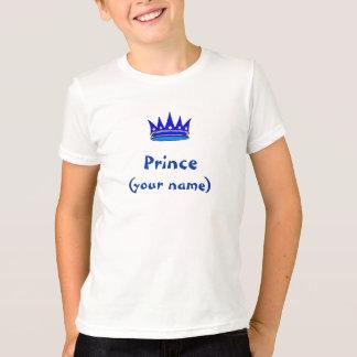 Coroa personalizada da camisa do príncipe) t-shirts