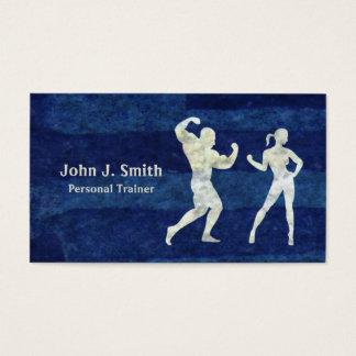 Corpos humanos do instrutor pessoal cartão de visitas