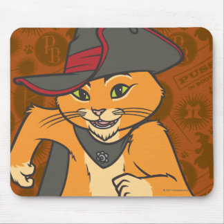 Corredor do Puss Mouse Pad