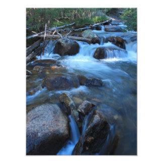 Córrego macio impressão de foto