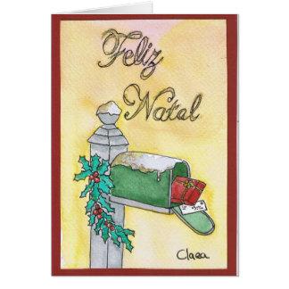 Correio de Natal / Christmas mail Cartão
