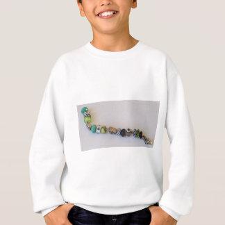 Corrente azul longa pela jóia de MelinaWorld Tshirts