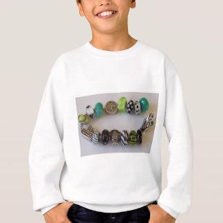 Corrente azul pela jóia de MelinaWorld T-shirt