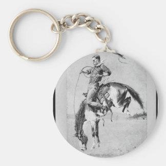 Corrente chave Bucking do cavalo de Frederic Remin Chaveiros