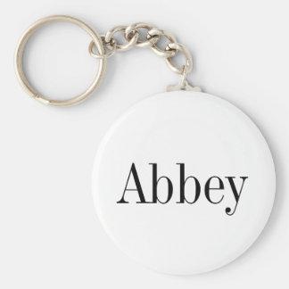 Corrente chave conhecida da abadia chaveiro