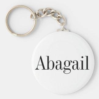 Corrente chave conhecida de Abagail Chaveiro