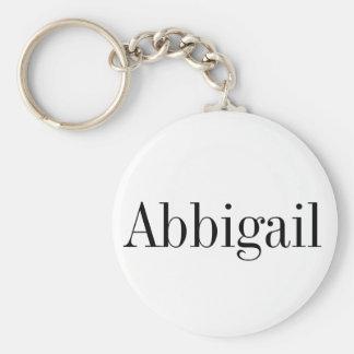 Corrente chave conhecida de Abbigail Chaveiro