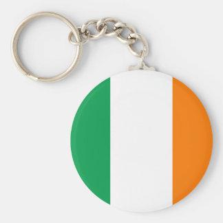 Corrente chave da bandeira irlandesa chaveiro