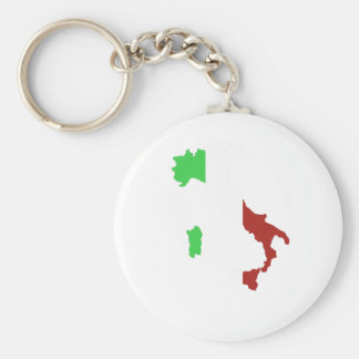 CORRENTE CHAVE DA BANDEIRA ITALIANA CHAVEIRO