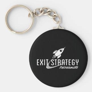 Corrente chave de estratégia de saída chaveiro