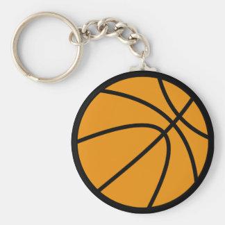 Corrente chave do basquetebol chaveiros