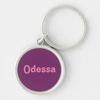 Corrente chave Odessa Chaveiro Redondo Na Cor Prata