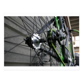 Corrente da bicicleta cartão postal