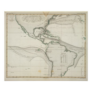 Corrente de Oceano Atlântico Poster