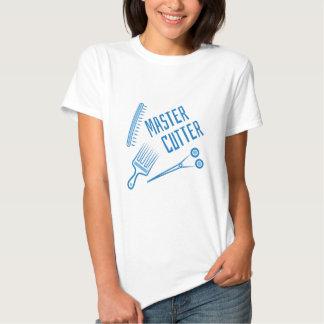 Cortador mestre t-shirts