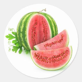 Corte a melancia adesivo