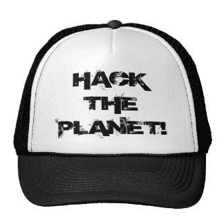 Corte o chapéu do planeta boné