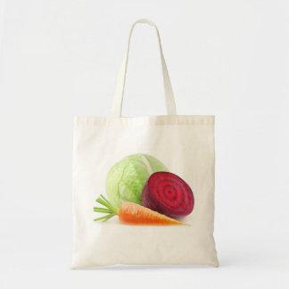 Corte vegetais bolsa tote